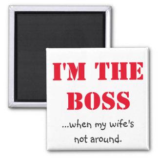 Íman Eu sou o chefe