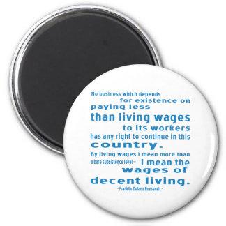 Íman FDR em salários