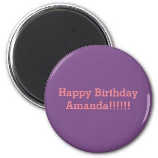 Íman Feliz aniversario Amanda