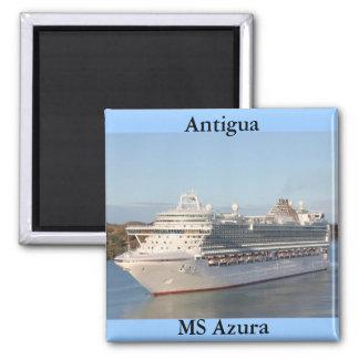 Íman Fim-Acima do navio de cruzeiros do MS Azura em