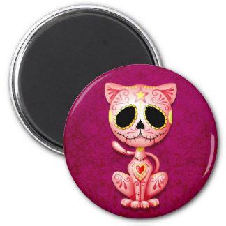Íman Gatinho cor-de-rosa do açúcar do zombi