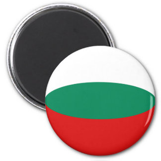 Íman Ímã da bandeira de Bulgária Fisheye