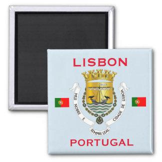 Íman Ímã da brasão de Lisboa Portugal