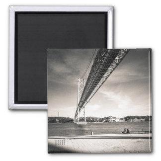 Íman Ímã da foto de Tagus do rio de Lisboa