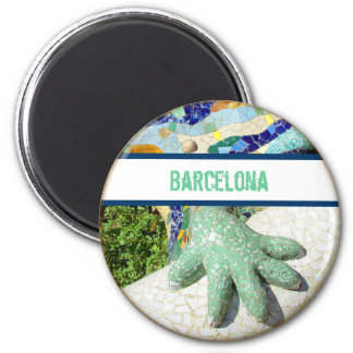 Íman Ímã do lagarto do mosaico de Barcelona