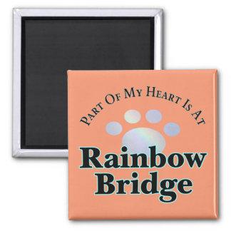Íman Ímã do quadrado da pata da ponte do arco-íris