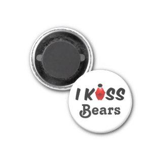Íman Ímã eu beijo ursos
