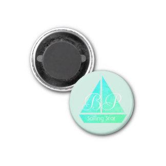 Íman Ímã legal personalizado da estrela da navigação