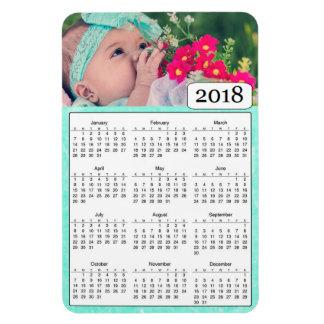 Íman Ímã personalizado 2018 calendários da foto da