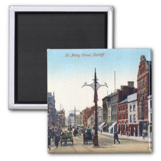 Íman Ímã - rua de Cardiff St Mary