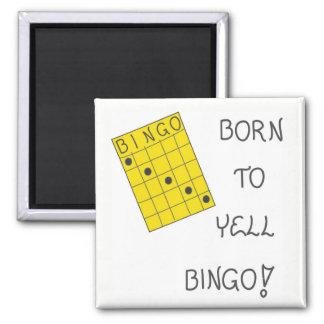 Íman Ímã sobre o Bingo