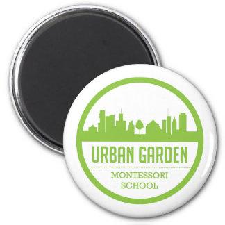 Íman Ímã urbano de Montessori do jardim