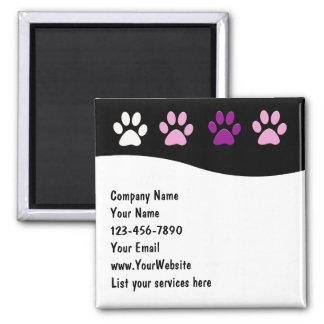Íman Ímãs da empresa de serviços do animal de estimação