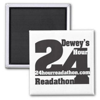 Íman Ímãs de Readathon da hora de Dewey 24