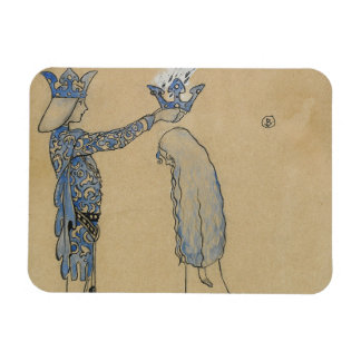Íman John Bauer - pnha então o príncipe uma coroa do
