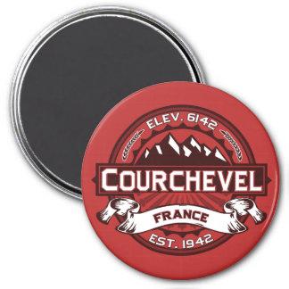 Íman Logotipo de Courchevel