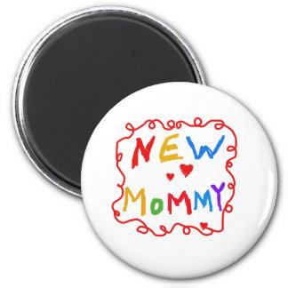 Íman Mamães novas do texto das cores preliminares