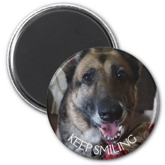 Íman Mantenha o ímã de sorriso do german shepherd