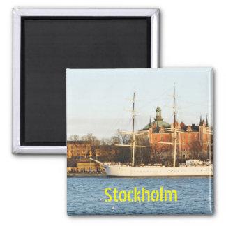 Íman Navegando em Éstocolmo, suecia