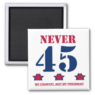 """Íman """"Nunca 45"""" Anti-Trunfo"""