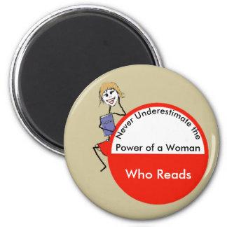 Íman Nunca subestime o poder de uma mulher que leia