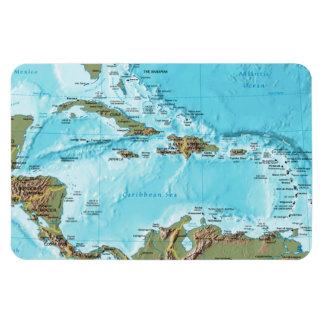 Íman O das caraíbas (mapa)