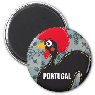 Íman O galo de Portugal e de mosaicos portugueses