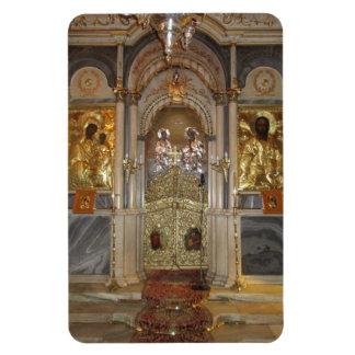 Íman O iconostasis, igreja do Metamorphis, Syros