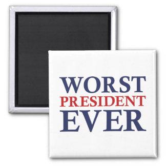 Íman O presidente o mais mau Nunca