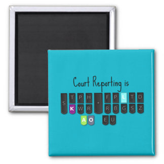 Íman O relatório da corte é ímã legal do teclado de