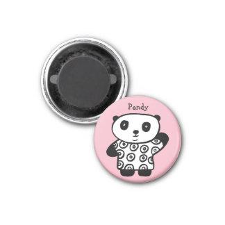 Íman Pandy personalizado a panda