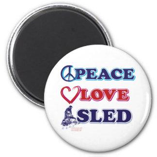 Íman Paz-Amor-Trenó-em-Escuro