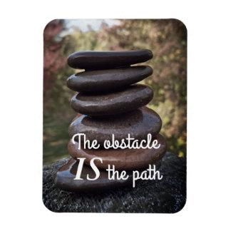 Íman Pedras inspiradores do zen das palavras das