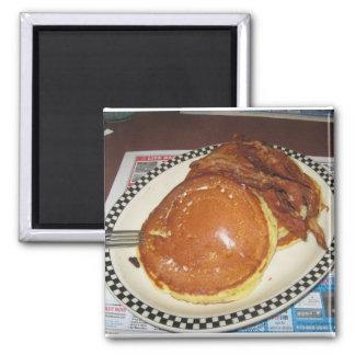 Íman Pequeno almoço da panqueca