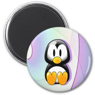 Íman Pinguim bonito dos desenhos animados
