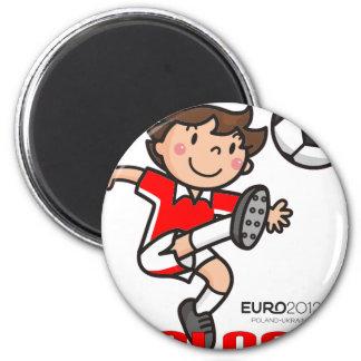 Íman Polônia - euro- 2012
