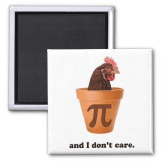 Íman Pote Pi (e mim da galinha não faz o cuidado)