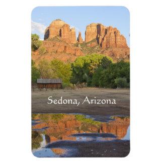 Íman Rocha vermelha que cruza Sedona, o Arizona