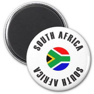 Íman Roda da bandeira de África do Sul