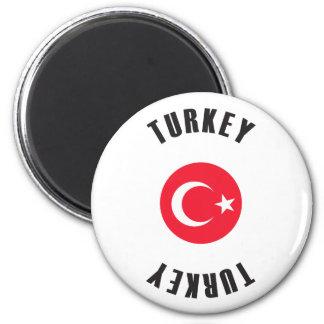 Íman Roda da bandeira de Turquia