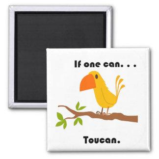 Íman Se um pode. Desenhos animados de Toucan