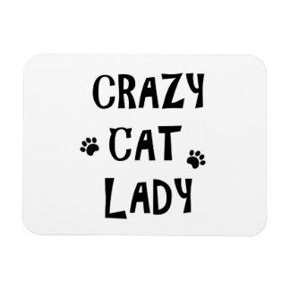 Íman Senhora louca do gato