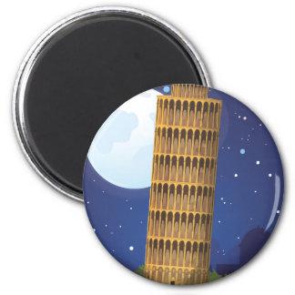 Íman Torre inclinada de Pisa