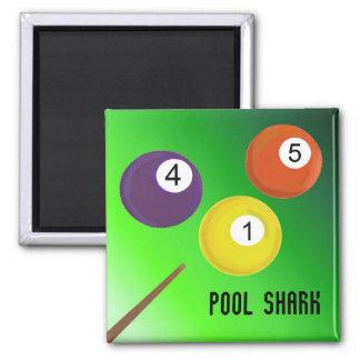 Íman Tubarão da piscina dos bilhar