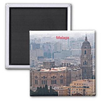 Íman Vista da catedral de Malaga