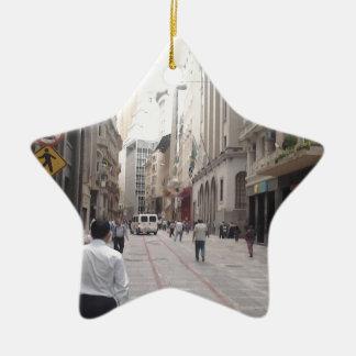 IMG00420.jpg Ornamento De Cerâmica Estrela