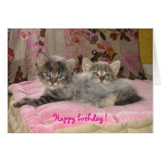 IMG_2275, Happy birthday! Cartão Comemorativo