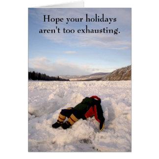 IMGP0336, esperam que seus feriados não são Cartão Comemorativo