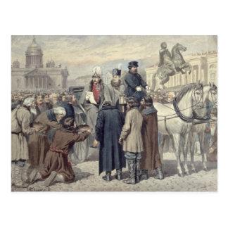 Imperador Alexander mim Cartão Postal