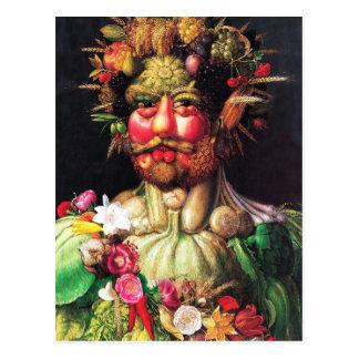 Imperador Rudolf II como Vertumnus Cartão Postal